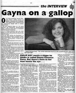 Daily Post Interview 2001